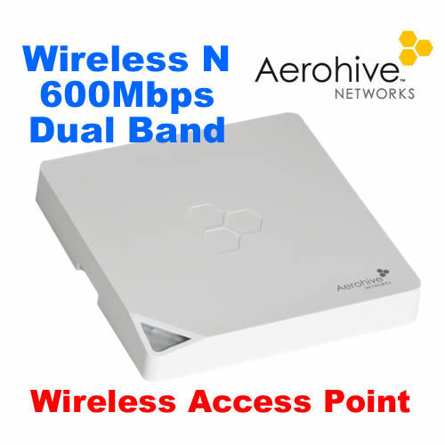Aerohive AP121 600Mbps 802.11n Wireless Access Point MIMO Dual Band POE
