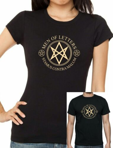 Womens TV Series SUPERNATURAL :Men Of Letters T-shirt  Up to 2XL FREE UK POST