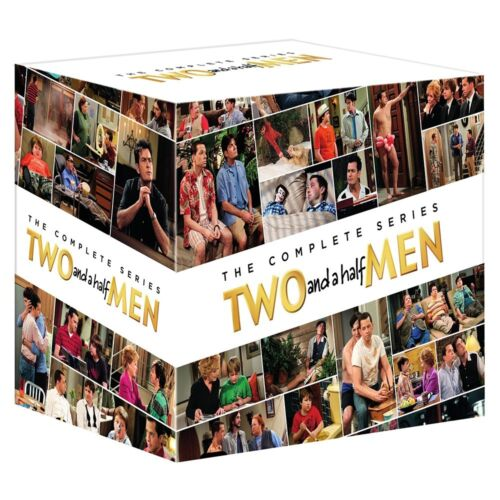 "TWO AND A HALF MEN COMPLETE SERIES 1-12 COLLECTION DVD BOX SET 39 DISCS R4 ""NEW"""