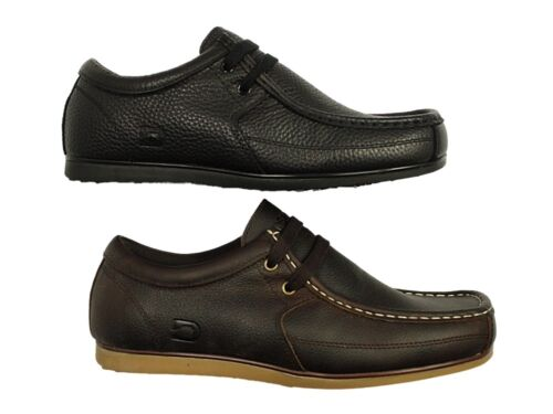 Mens Nicholas Deakins Smart Casual Leather Lace Up Shoes Office Work Boots