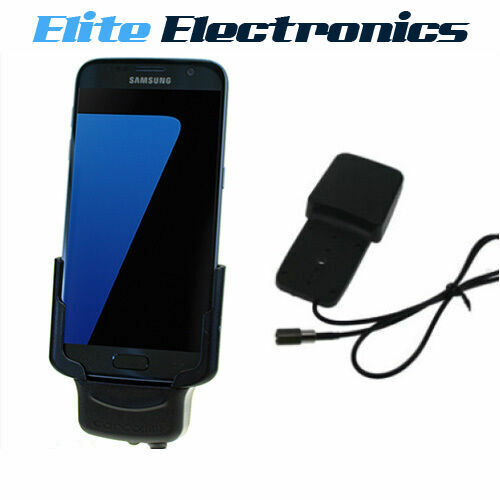 CARCOMM SAMSUNG GALAXY S7 CRADLE + INTEGRATED ANTENNA COUPLER CIGARETTE CHARGING