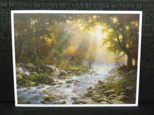 Larry Dyke River Of Light Open Edition Lithograph Landscape