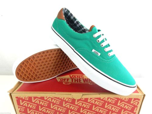 Vans Era 59 Canvas Trainers Pepper Green
