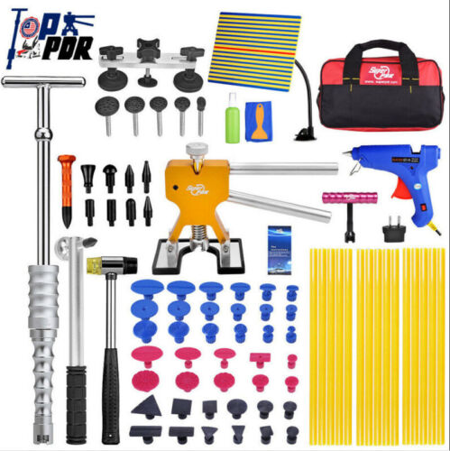 48× AU PDR Paintless Dent Puller Lifter Hail Removal Tools Car Body Kit Glue Gun <br/> Best quality in market√ Easy Returns√ Useful Warranty√