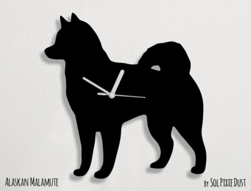 Alaskan Malamute Dog - Wall Clock