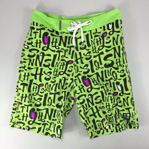 Insight Calligraffiti Board Shorts Lime Brand new in box in sizes 30,32