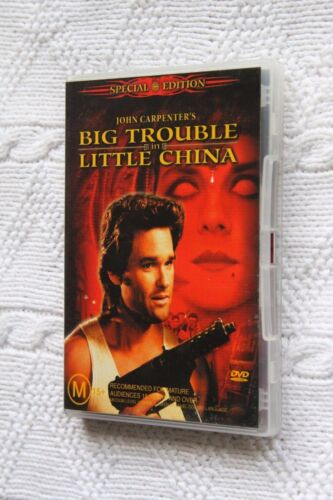 Big Trouble in Little China (DVD, 2-Disc) R-4, Like new(Discs: New) free postage