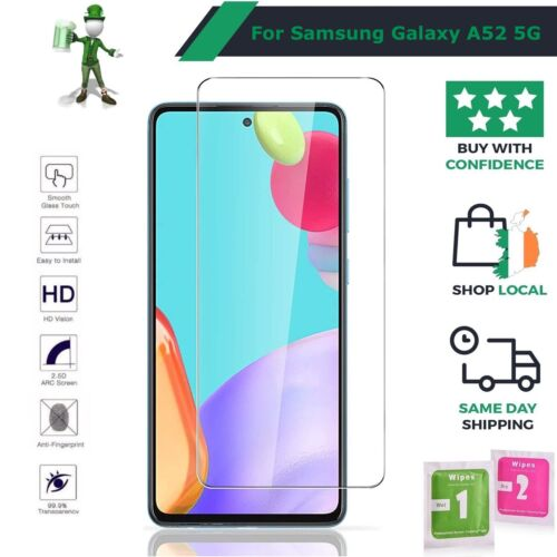 2 x Genuine Tempered Glass 9H Screen Protector For Samsung Galaxy A7 - (2016)