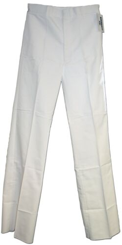 Men's US Navy White Uniform Dress Pants Trousers 36L UnhemmedUniforms & BDUs - 70988