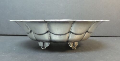 "MID-CENTURY CODAN MEXICO STERLING SILVER 6"" FOOTED DISH / BOWL, 130 grams"