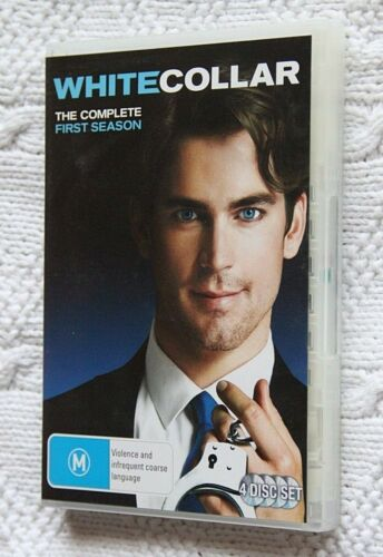 White Collar The Complete First Season (DVD, 4-Disc) R-4, Like new, free post
