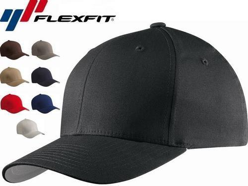 5001 Flexfit V-Flexfit Cotton Twill Fitted Baseball Blank Plain Hat Cap Flex Fit