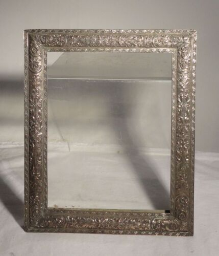 Antique Silverplate Renaissance Revival Barbour Silver Picture Frame Photograph