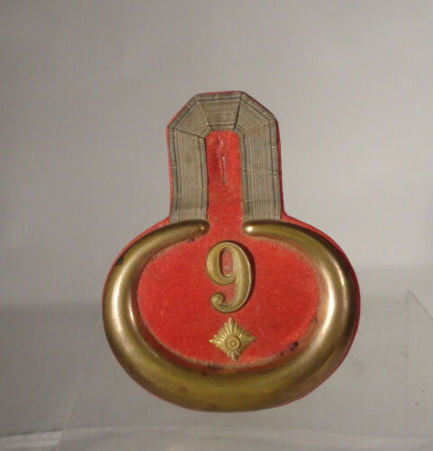 Antique Early Brass and Felt Epaulette 9 European  Imperial German WWIOther Civil War Original Items - 136