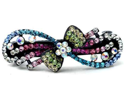 ConMiGo AN004 colouful sequined hairstyling crystal embelished hair clip