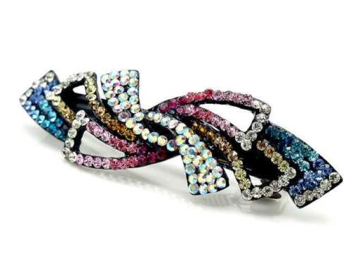 ConMiGo AN017 colouful sequined hairstyling crystal embelished hair clip
