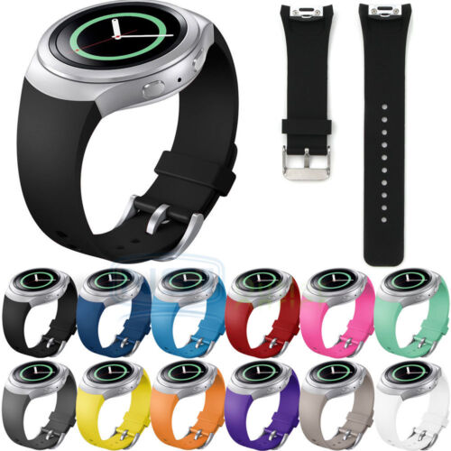 US Sport Band Silicone Replacement Watch Strap For Samsung Gear S2 R720 Bracelet