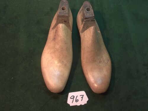Vintage 1942 Pair US NAVY Shoe Lasts  Size 9-1/2 E STERLING Factory Mold #967