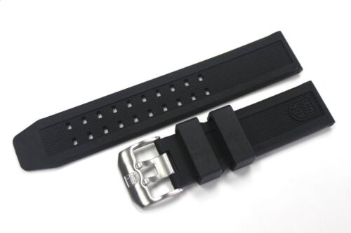 Luminox 23mm FP.L.ES Watch Rubber Band Strap NAVY SEAL Colormark 3050/3080/8800