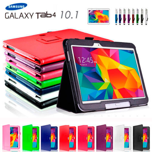 NEW Flip Case Cover for Samsung Galaxy Tab 4 10.1' T530 T535 T531