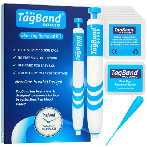 Auto TagBand Skin Tag Removal Device Kit. The Fast & Effective Skin Tag Remover! <br/> Free next day delivery & 60 day money back guarantee