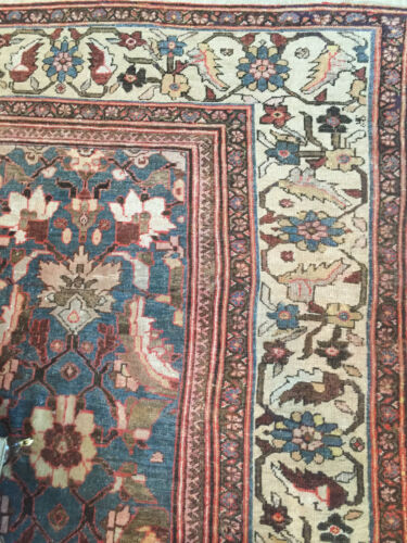 Antique Oversized Persian Ziegler Mahal Sultanabad Rug