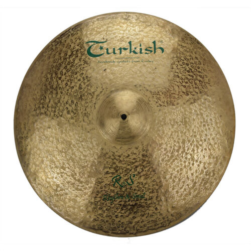 "TURKISH CYMBALS Becken 20"" Ride R&S Rhythm & Soul bekken cymbale cymbal 1739g"