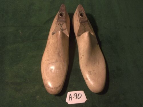 Vintage Pair Shoe Lasts Size 8 A  OXF Arnold Factory Industrial Molds #A-90