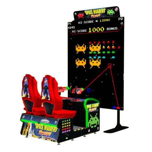 Top Holiday Gifts Raw Thrills Space Invaders Frenzy Video Arcade Game