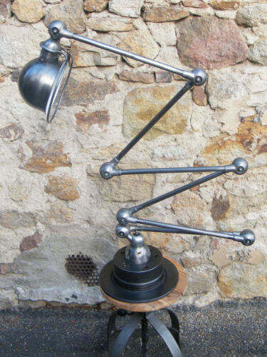 Beautiful  6 arms Jielde  Lamp 1950 Vintage 100% Original French Industrial