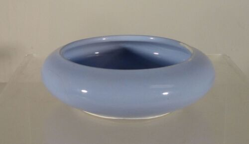 Antique Chinese Clair De Lune Blue Glazed Brushwasher Coupe Narcissus Bowl
