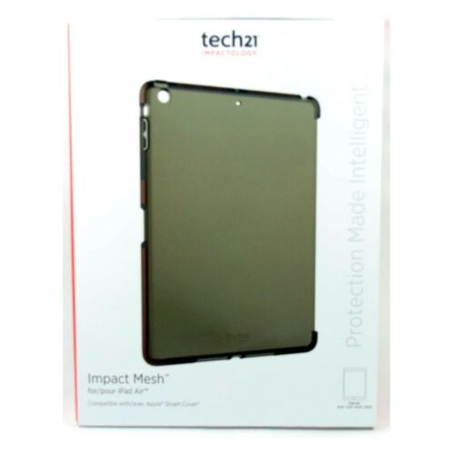 TECH21 CASE FOR IPAD AIR 1 REAR BACK COVER IMPACT MESH COVER SLIM SMOKE T21-3874
