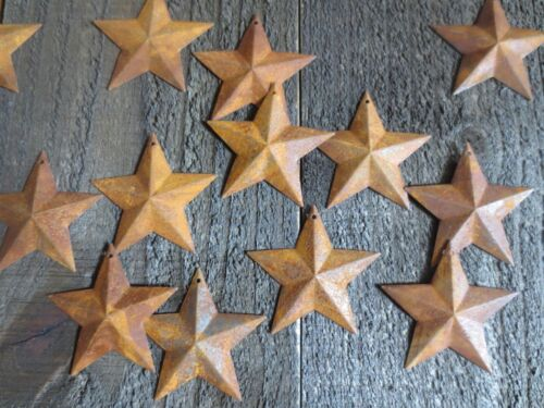 Lot 100 Rusty Barn Stars 2.25 inch 2 1/4 Primitive Country Rusted Flag Americana
