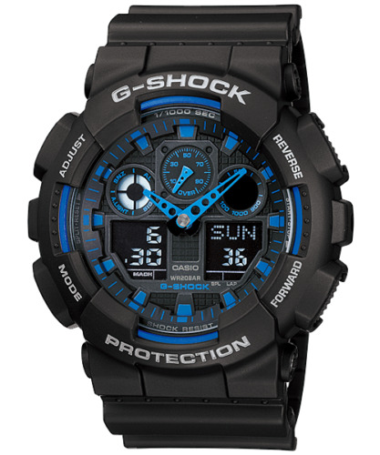 Casio G-Shock Mens Watch XL Case GA-100 Super Sale <br/> GET A FURTHER $10 OFF YOUR PURCHASE! USE CODE PETAL