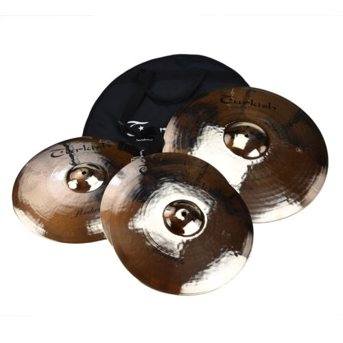 "TURKISH cymbal cymbale bekken Becken Set 14""-16""-20"" Set-3 Moderate"