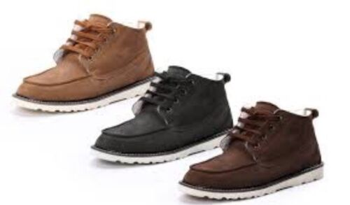 Snowpaw Men's Footwear Coffee Size Uk 9 Boots Brand New FREE DELIVERY