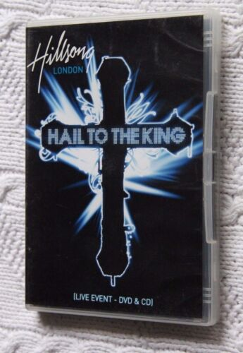 HILLSONG LONDON-HAIL TO THE KING: LIVE EVENT  (DVD + CD) R-ALL, LIKE NEW,