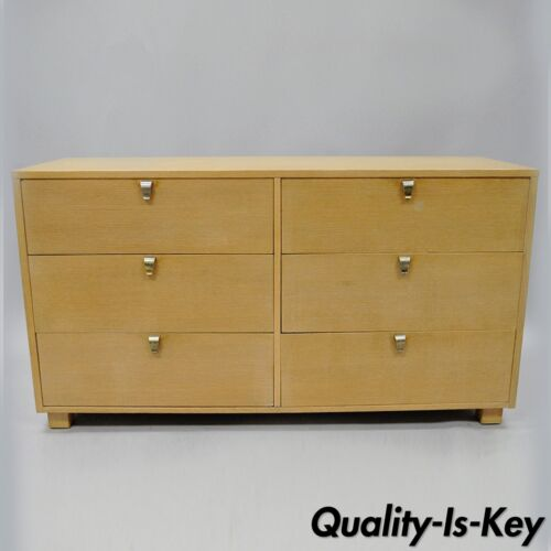 Kent Coffey The Erect-On Cerused Oak Dresser Credenza Mid Century Modern Vintage