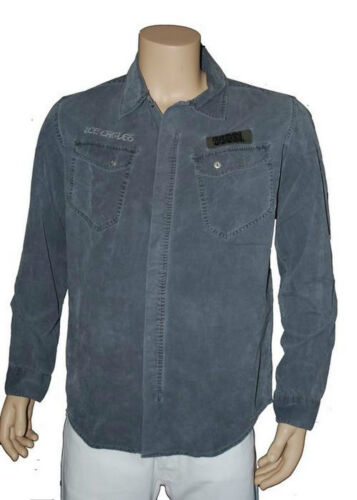 chemise velour homme 55 DSL ( by diesel ) modele fiver camicia taille L