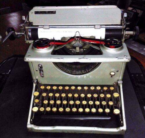 IMPERIAL mod.50 Macchina da scrivere del 1935 OLD ENGLAND TYPEWRITER