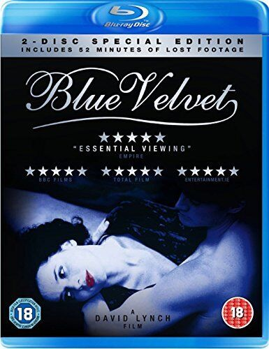 Blue Velvet [Blu-ray] Special Edition inc Lost Footage