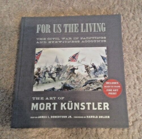 For Us The Living-The Art of Mort Kunstler-Collector's Edition w/ Fine Art PrintBooks - 13959