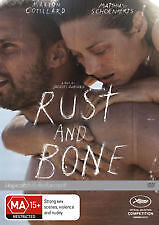 RUST AND BONE  (DVD) R-4,  NEW, FREE POSTAGE WITHIN AUSTRALIA