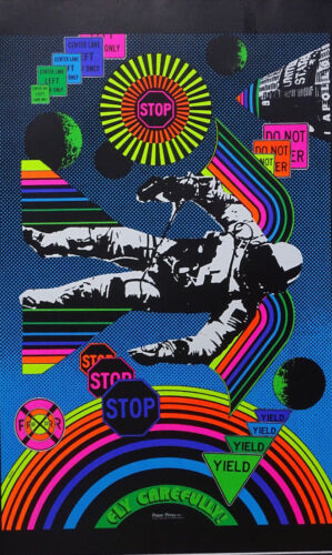 Choose from 60 different Psychedelic Blacklight Poster reproductions 1960's-70's