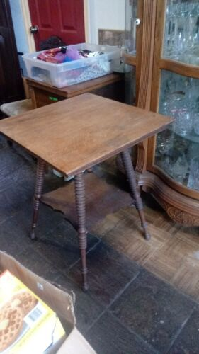 vintage barley twist  table
