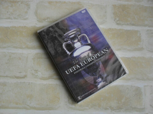 THE STORY OF THE UEFA EUROPEAN FOOTBALL CHAMPIONSHIPS PAL NEW DVD