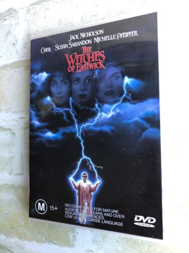 THE WITCHES OF EASTWICK / CHER - REGION 4 PAL DVD