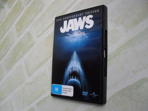 JAWS - 30TH ANNIVERSARY EDITION - REGION 4 PAL - 2 DISC DVD SET