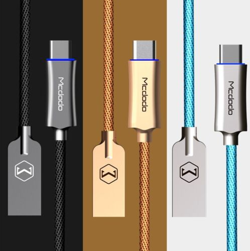 Mcdodo USB-C Type-C 3.1 Quick Charger Fast Charging Data Sync Cable Cord LOT
