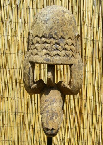 """African Dogon Zoomorphic Mask  from Mali 16"""" Tall"""